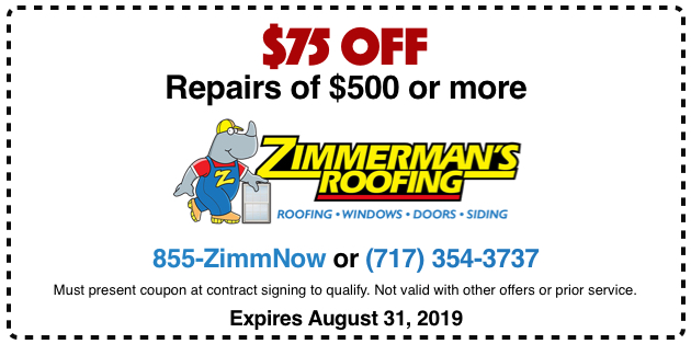 $75 off repairs of $500 or more.
