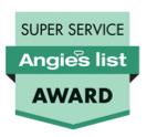 Angies List Super Service Award.