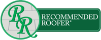 Recommended Roofer logo.